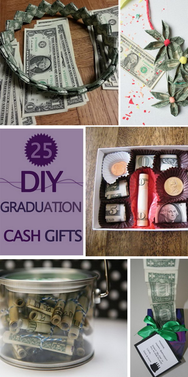 DIY Graduation Cash Gifts!