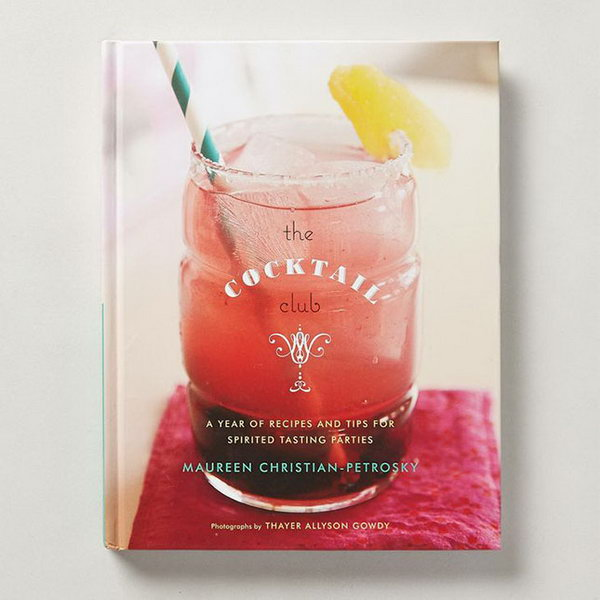 Cocktail Club. Get more knowledge about cocktails with this chatty book which culls a year's worth of recipes from the past and present. The recipient will appreciate your genuine graduation gift to know more about unique drinks to broaden their views. http://hative.com/graduation-gift-ideas/