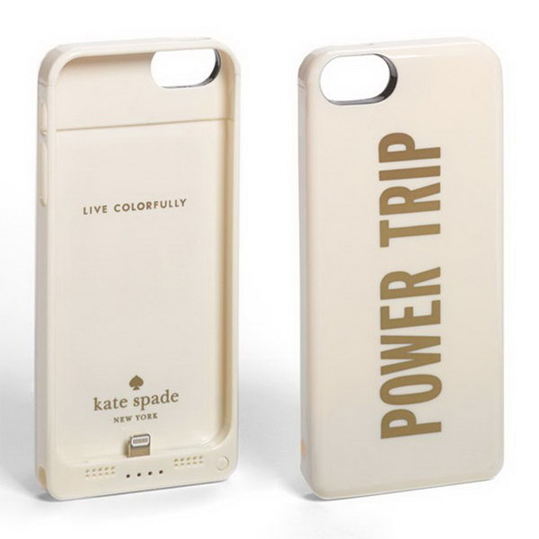Kate Spade Portable Charger. Juice up their phone or other devices with this portable charger for convenience to refill your device with extra energy throughout the day. http://hative.com/graduation-gift-ideas/