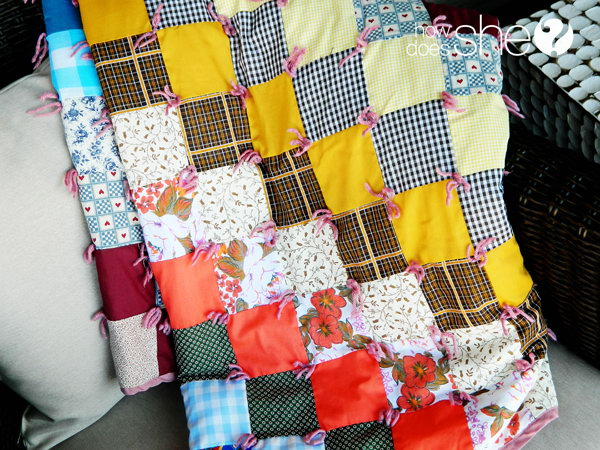 Special Handmade Quilt. Make this special quilt from blocks of the hand me down clothes for the graduate to snuggle in while he or she is far away from home. This special graduate gift will definitely be your prized possessions to treasure. http://hative.com/graduation-gift-ideas/