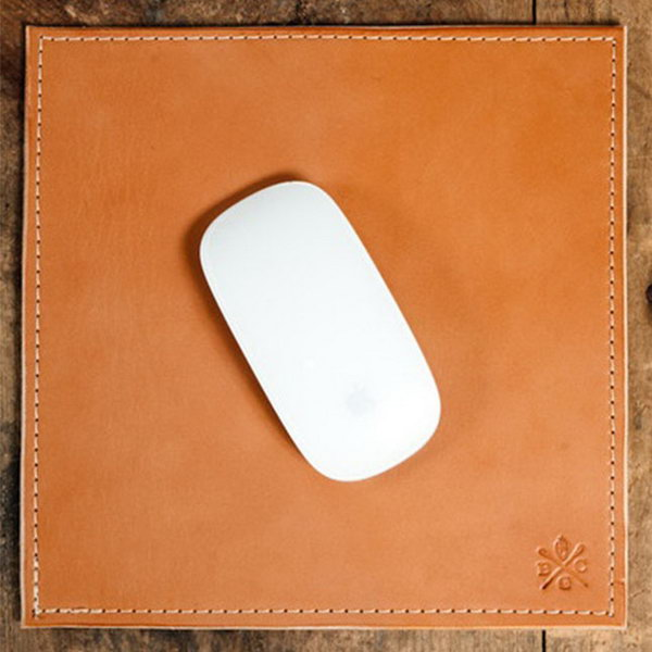Bexar Goods Mouse Pad. Dress up the graduate's new desk with a fancy mouse pad that has hand beveled and burnished edges for a finished look. http://hative.com/graduation-gift-ideas/