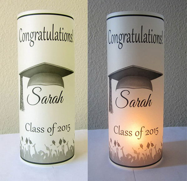 Diy centerpieces that are unique and easy long hairstyles for 2015 graduation decoration ideas