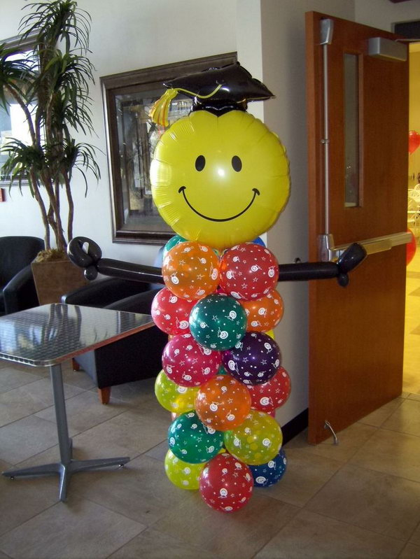 Graduation party themes 2015 search results calendar 2015 for Balloon decoration ideas for graduation