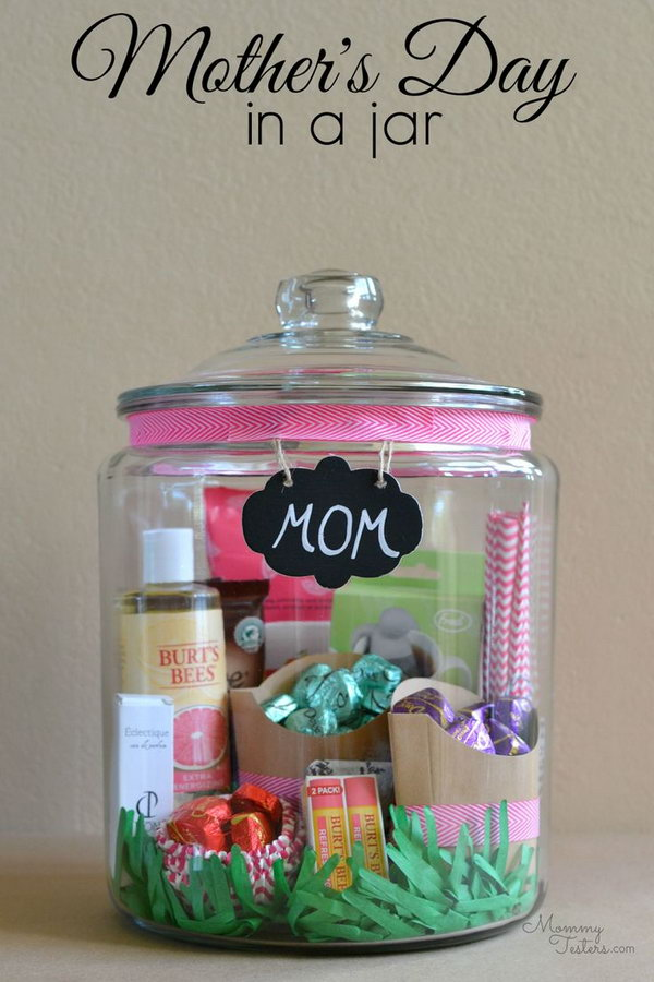 Creative diy holiday gift ideas for parents from kids hative Christmas ideas for your mom