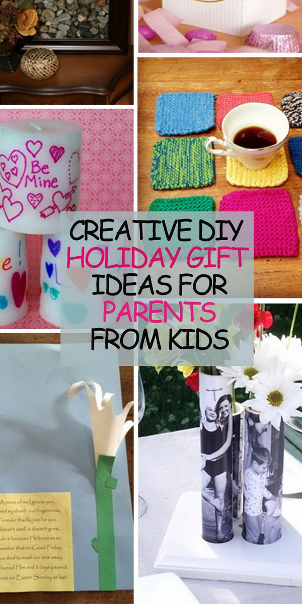 6199d63d74e34 Creative DIY Holiday Gift Ideas for Parents from Kids - Hative