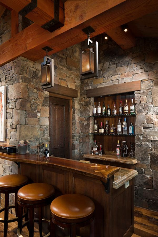 rustic home bar design the home bar has become one of the typical