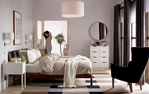 Harmony Is An Important Part In The Bedroom Design. The Colors, The  Furniture And