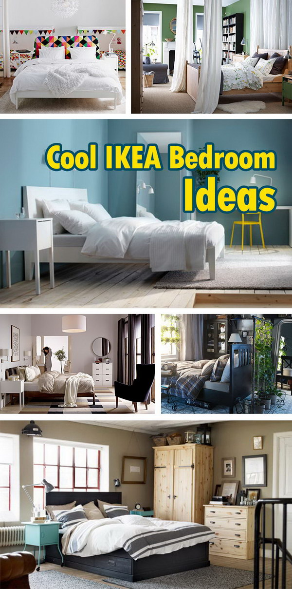 Cool IKEA Bedroom Ideas!