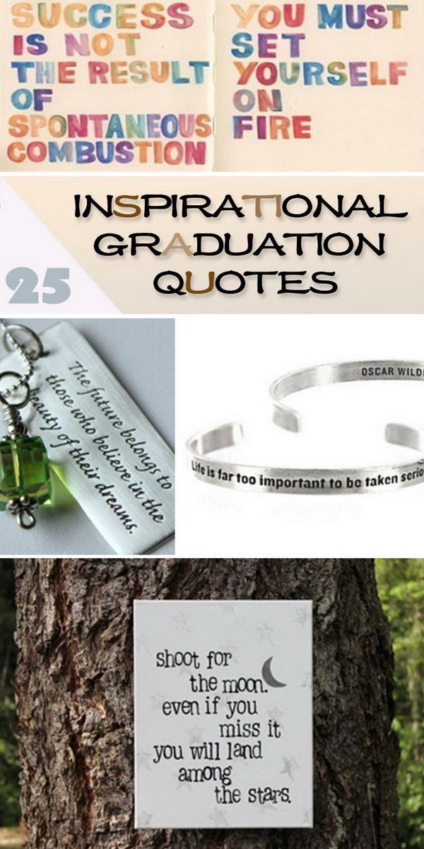 Inspirational Graduation Quotes!