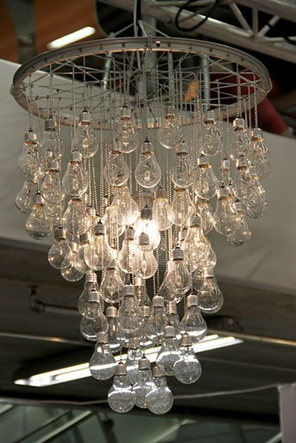 25 creative light bulb diy ideas hative - Creative lighting ideas ...