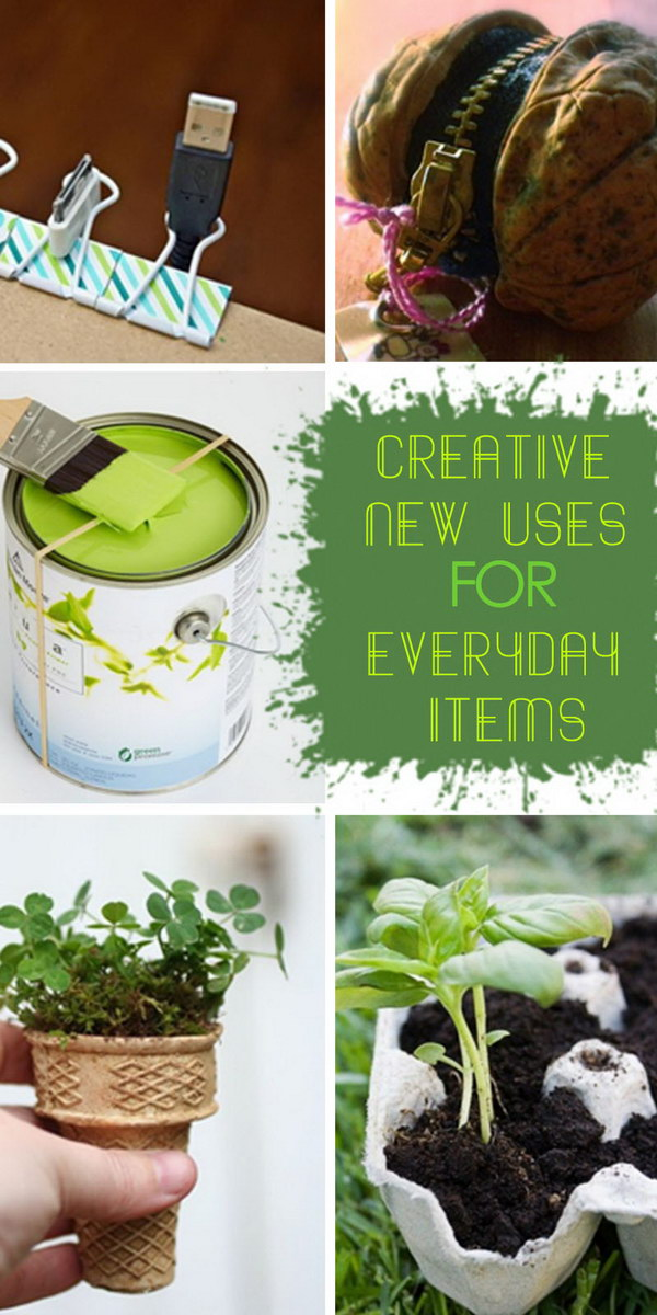 Creative New Uses for Everyday Items!