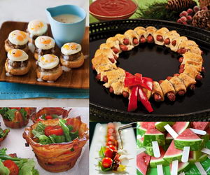 party food ideas collage data pin