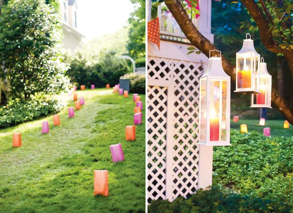 Paper Bag Lights Summer Party Decor Set Up A With These Colorful Luminary