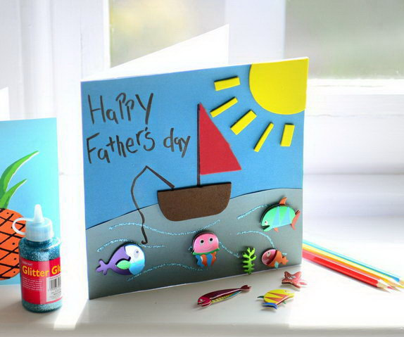 20 Creative Must See Wedding Ideas For Kids: 40+ DIY Father's Day Card Ideas And Tutorials For Kids