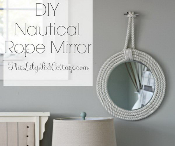25 Diy Rope Craft Ideas Hative