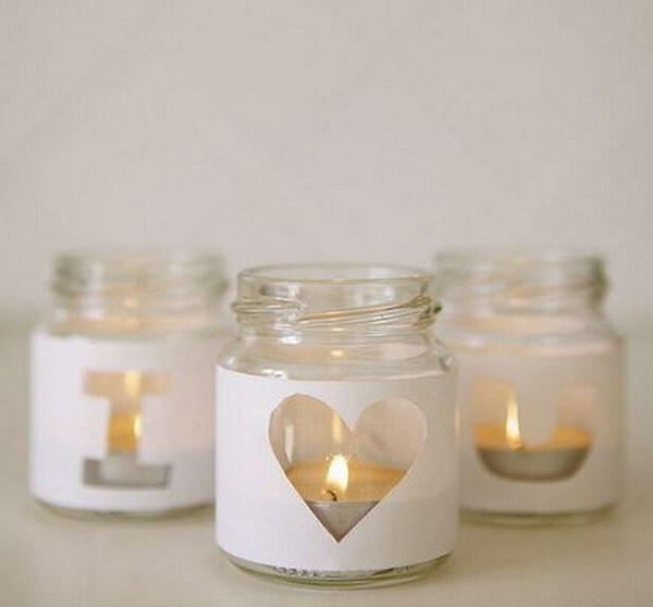 Empty Candle Jar Crafts
