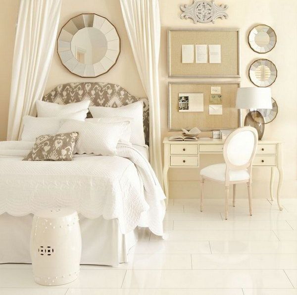 Small Bedroom Big Heart And Lots Of Storage: 25 Creative Ideas For Bedroom Storage