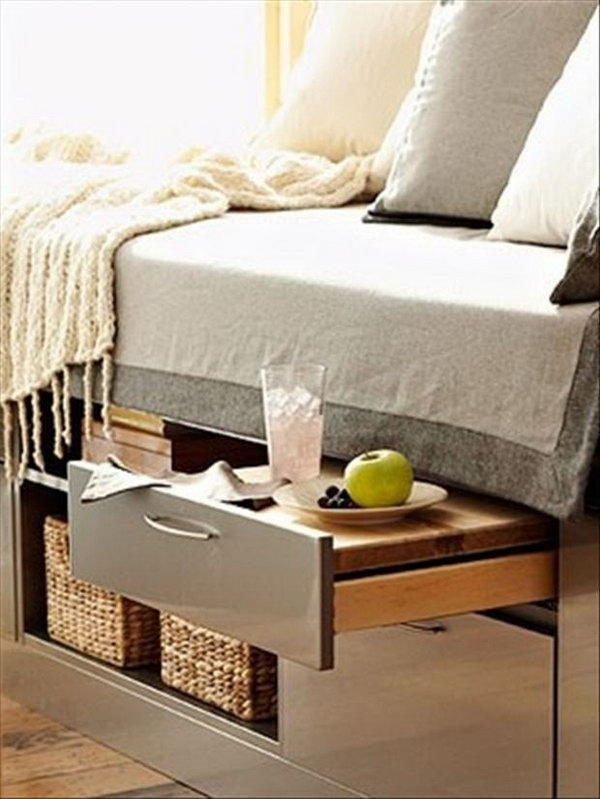 25 creative ideas for bedroom storage hative - Under the bed storage ideas ...