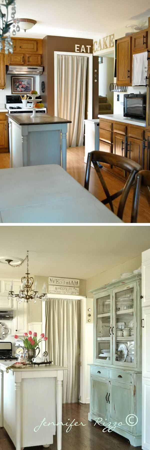Before & After: Shabby Chic