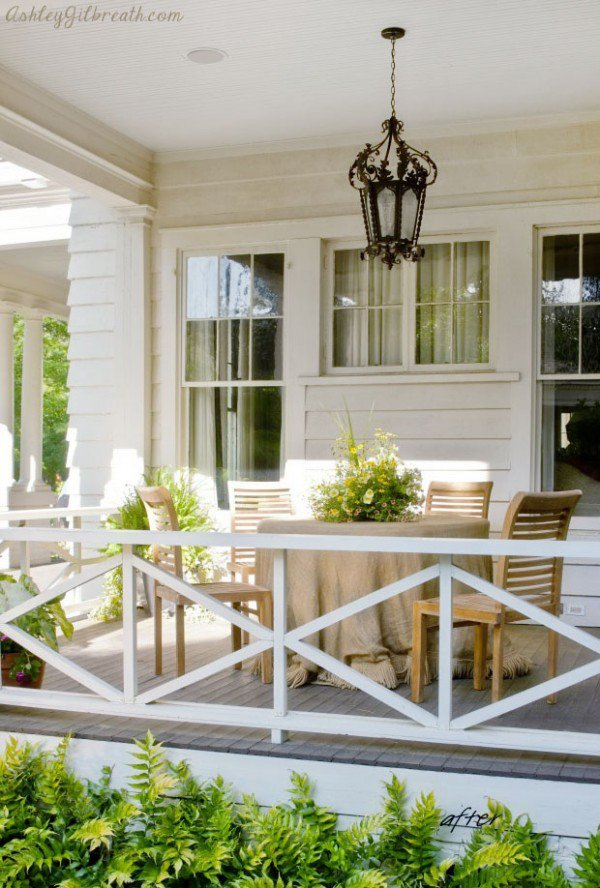 Check Out This Gorgeous Patio With These Simple Diamond Rails, Viewing  Everything