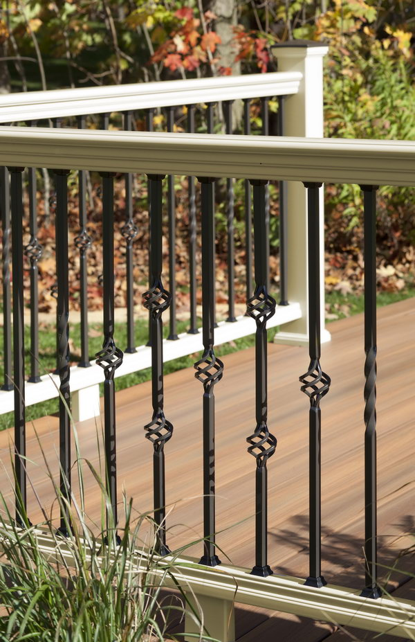 vintage panorama railing - Deck Railing Design Ideas