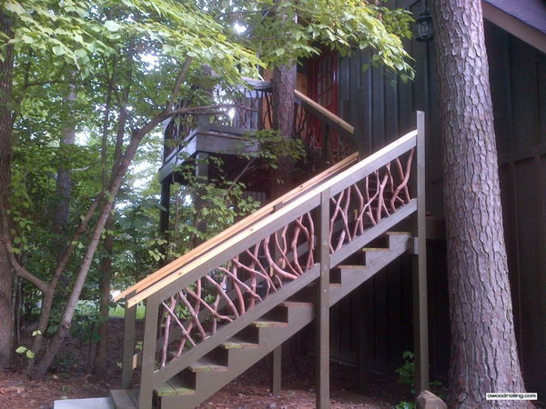 Best 20 Outdoor Stair Railing Ideas On Pinterest: 20+ Creative Deck Railing Ideas For Inspiration