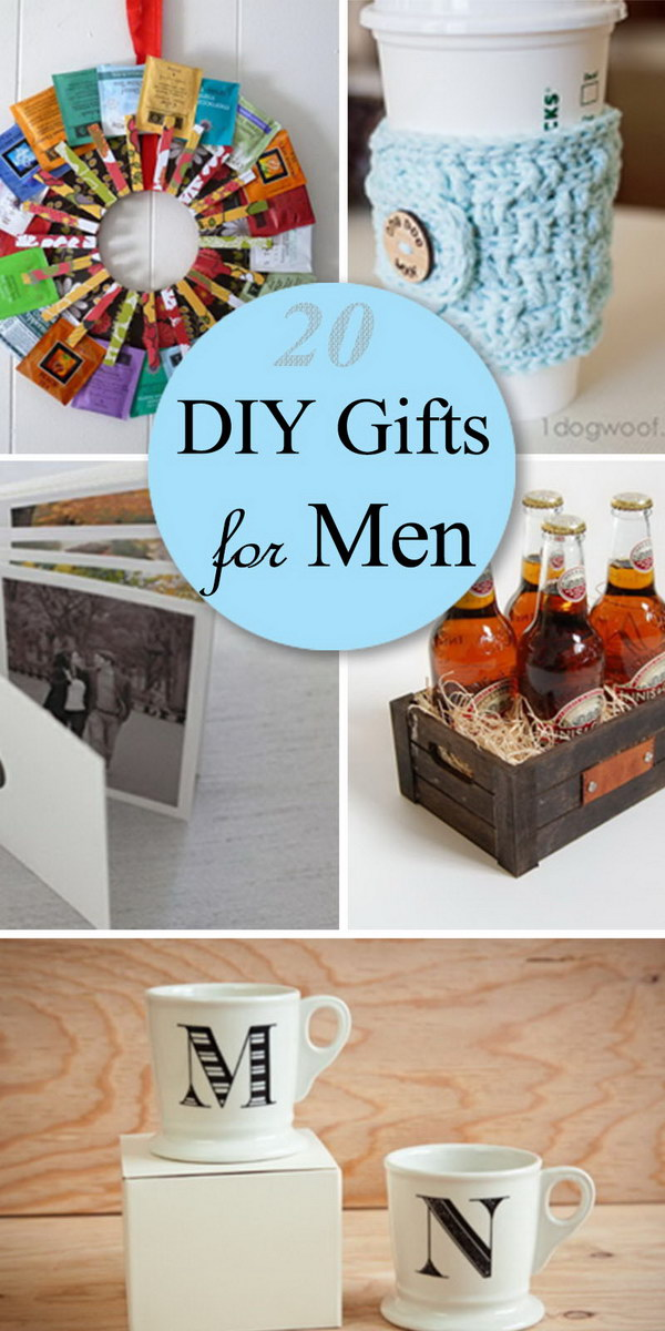 Diy Wedding Gift For Brother : 20 DIY Gifts for Men - Hative