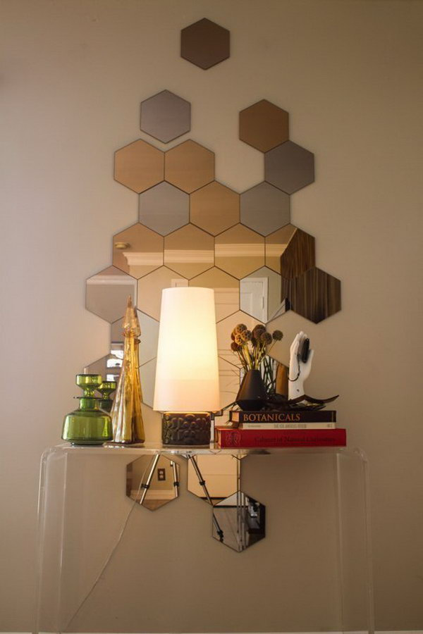 25 DIY Ideas with Mirrors - Hative