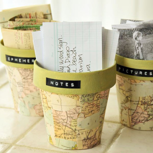25 Creative DIY Map Projects - Hative