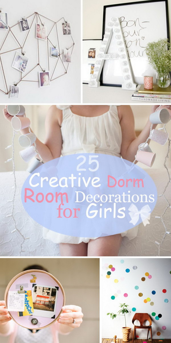 Creative Dorm Room Decorations for Girls!