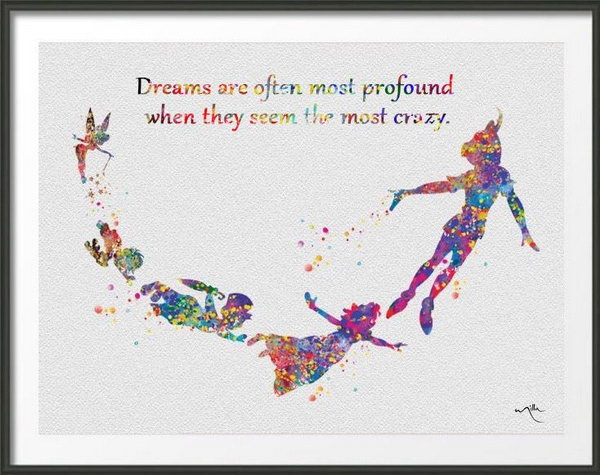 Nice Dream Quote. Dreams Are Often Most Profound When They Seem The Most Crazy.  Dream