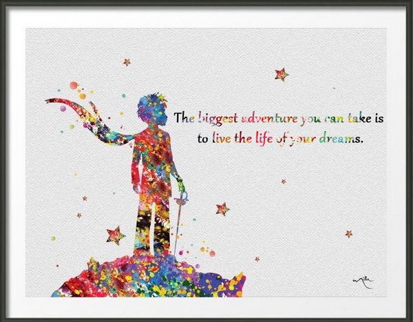 Lovely Dream Quote. The Biggest Adventure You Can Take Is To Live The Life Of Your