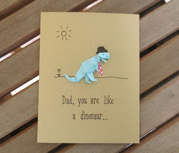 40+ DIY Father's Day Card Ideas And Tutorials For Kids