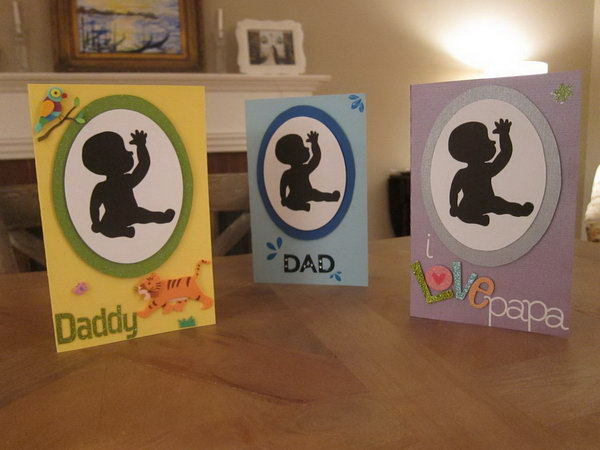 A Baby Sign Language Father's Day Card