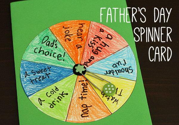 Fun DIY Spinner Card