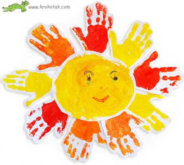 Handprint Sun.