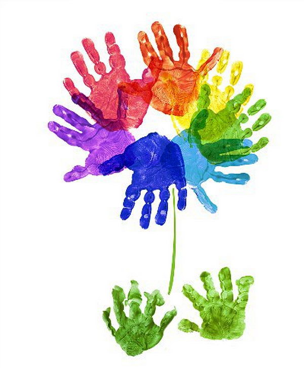 25 Fun and Beautiful Handprint & Footprint Crafts for Your Kids to ...