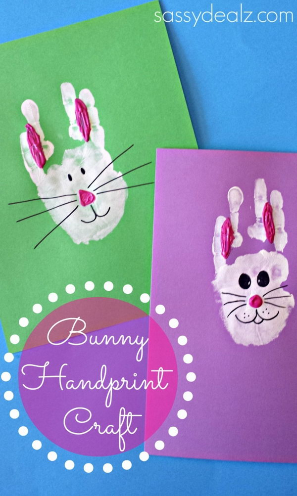 Bunny Rabbit Handprint