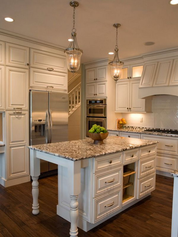 20 cool kitchen island ideas hative - Counter island designs ...