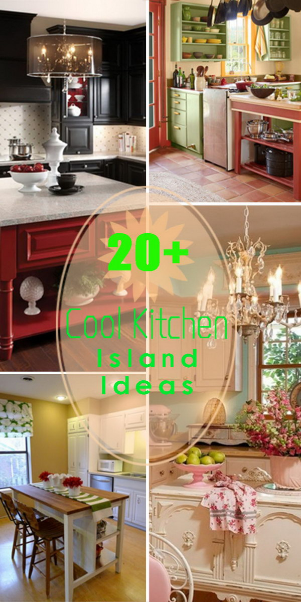Cool Kitchen Island Ideas!