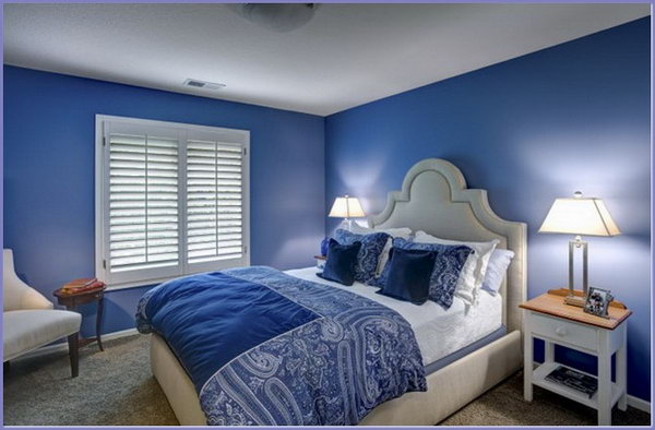 Superbe Blue Master Bedroom Paint Color Ideas