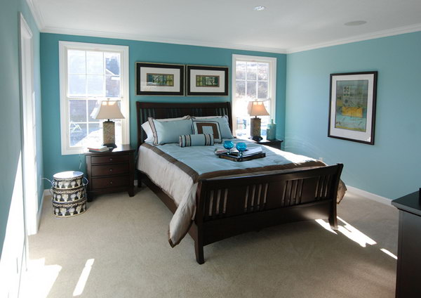 Blue Master Bedroom Paint Color Ideas 45 Beautiful for  Hative