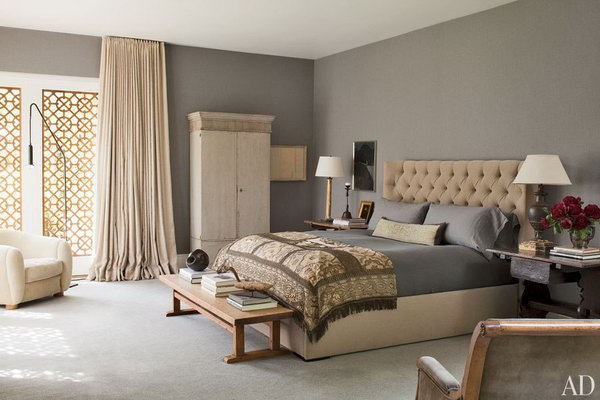 gray master bedroom paint color ideas