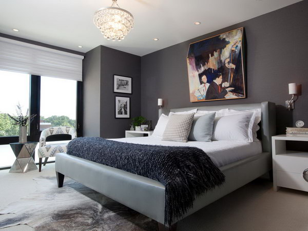 Superbe Gray Master Bedroom Paint Color Ideas