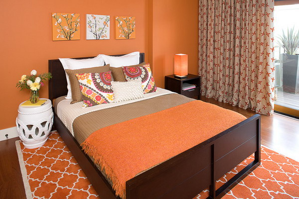 Bedroom Paint Ideas Orange 45 beautiful paint color ideas for master bedroom - hative