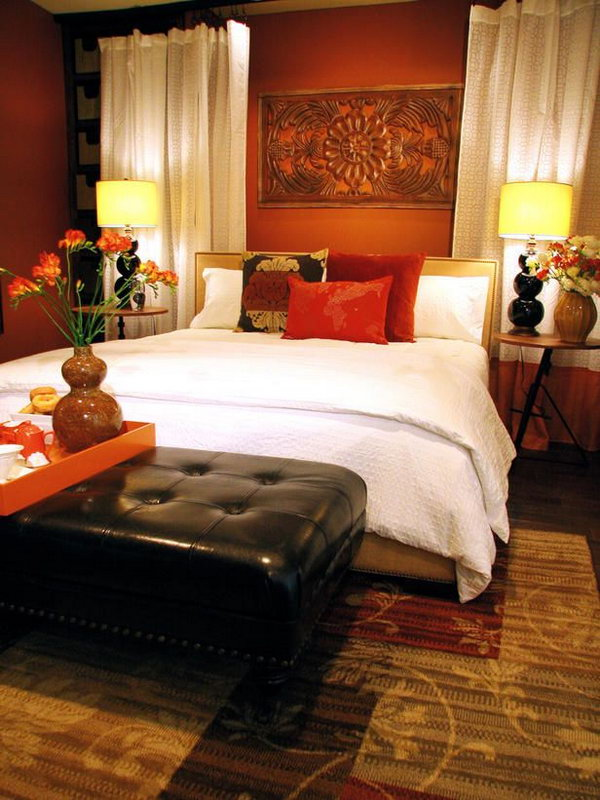 Bedroom Decor Ideas Red