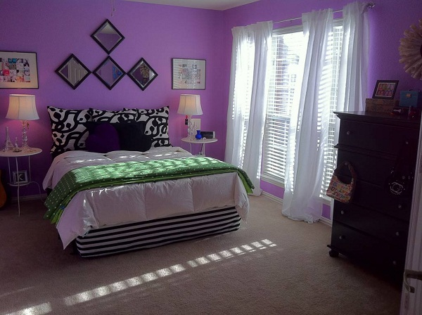 Genial Purple Themed Master Bedroom Paint Color Ideas