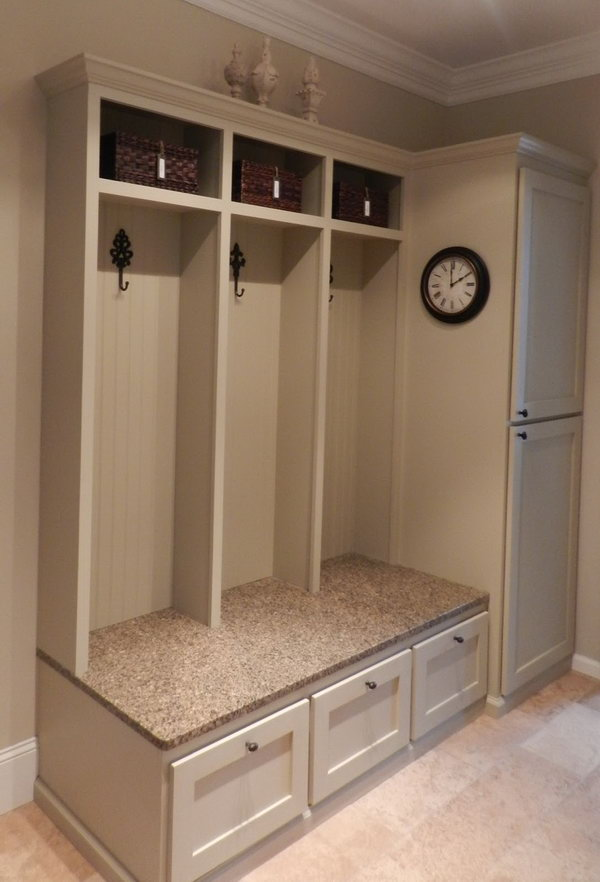 Design For Cabinet For Room: 30+ Awesome Mudroom Ideas