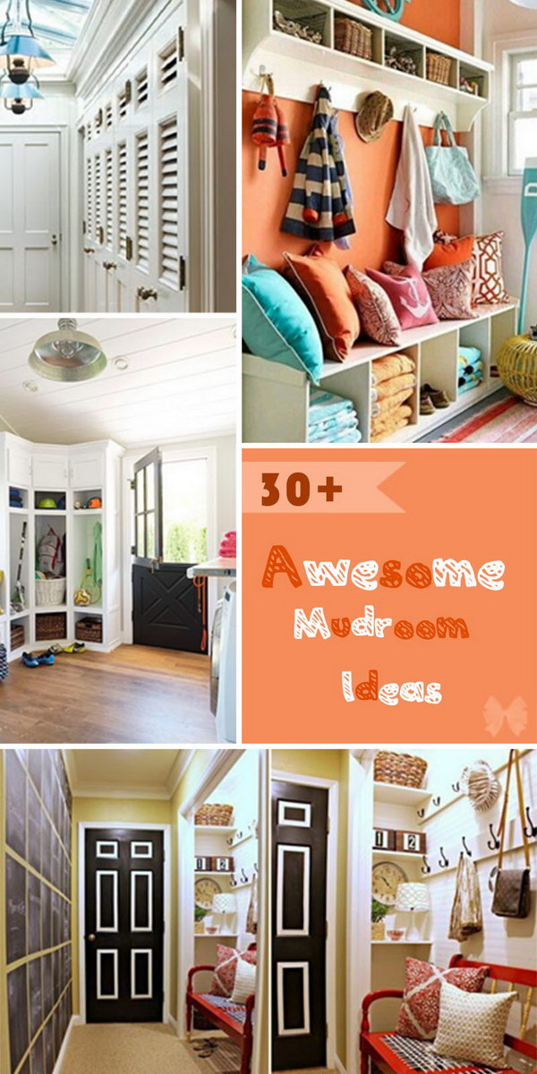 Awesome Mudroom Ideas!