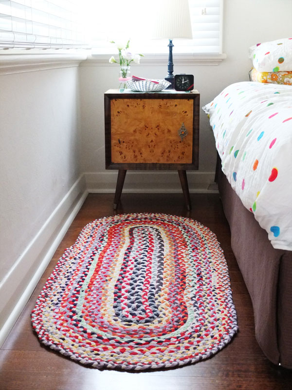 This Upcycled Braided Rug Is A Super Satisfying Project To Make